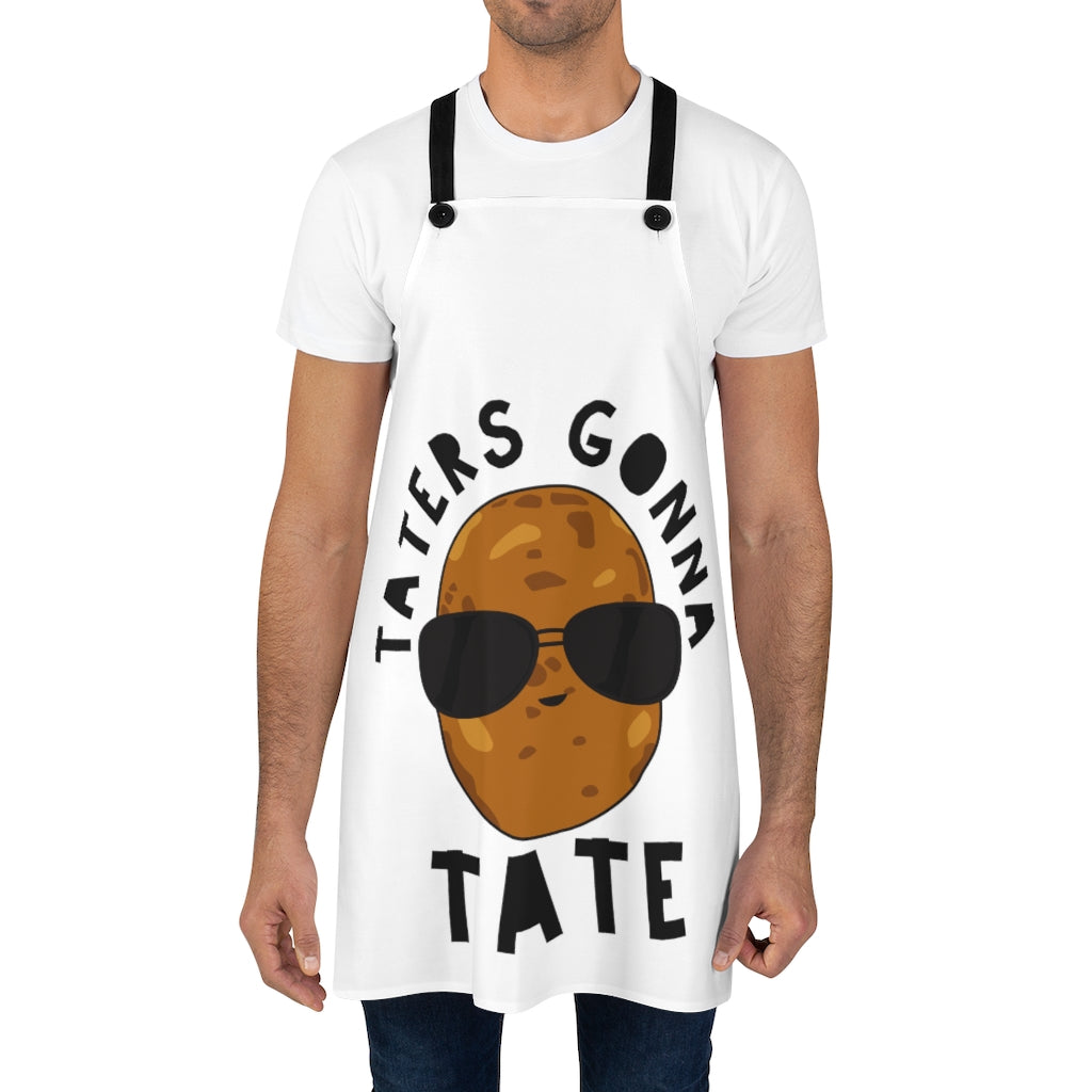 Taters Gonna Tate Funny Kitchen Cooking Apron - Official Chloe Temtchine Kitchen Apron