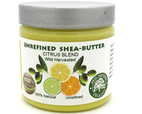 Shea Citrus Butter Blend - Unrefined, 100% Natural, & Wild Harvested