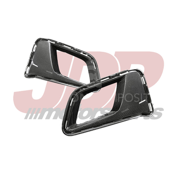 Anderson Composites 6th Gen Camaro ZL1 Front Bumper Air Duct Bezels (AC-ADB17CHCAMZL-LE)