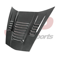 "Anderson Composites C6 Corvette ""World Challenge"" Style Hood (AC-HD05CHC6-WH)"
