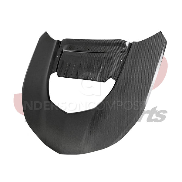 Anderson Composites 6th Gen Camaro ZL1 Double Sided Carbon Fiber Hood (AC-HD17CHCAMZL-OE-DS)