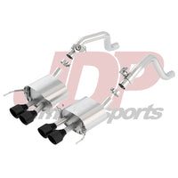 "Borla C7 Corvette 2.75"" Atak Axle-Back w/Black Tips (11863CB)"