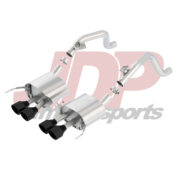 "Borla C7 Corvette 2.75"" S-Type Axle-Back w/Black Tips (11868CB)"
