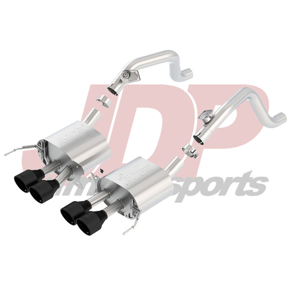 "Borla C7 Corvette 2.75"" Atak Axle-Back w/Black Tips (11869CB)"