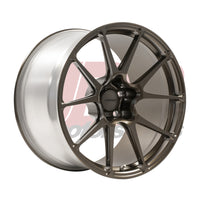 Forgeline C7 Grand Sport/Z06 Corvette One Piece Monoblock Series GA1R Open Lug Cap Edition Wheels (GA1ROL)