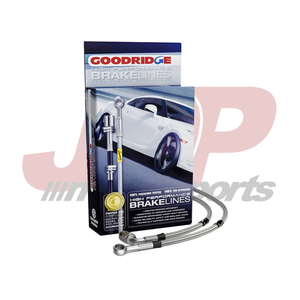 Goodridge C6 Corvette LS2/LS3 G-Stop Stainless Steel D.O.T. Brake Line Kit (12290)