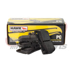 Hawk C6 Grand Sport/C6 Z06 Corvette 1-Piece Performance Ceramic Rear Brake Pads (HB659Z.570)