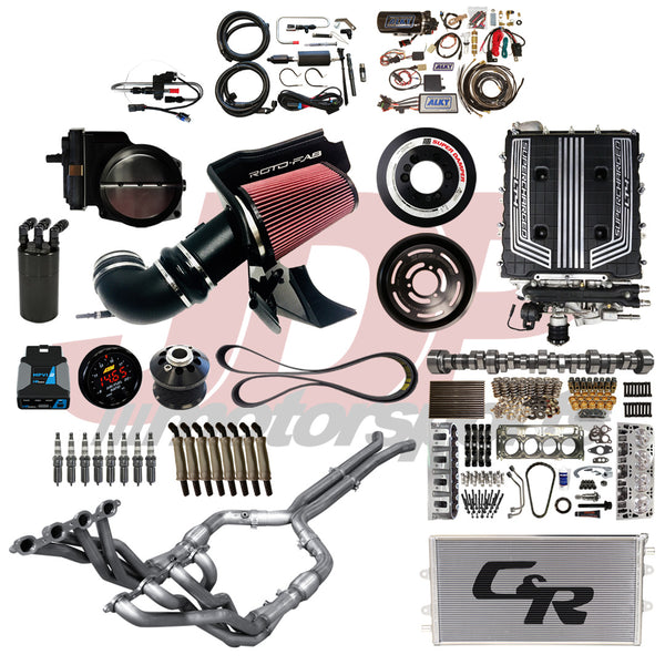 JDP Motorsports 3rd Gen CTS-V Stage IV 900HP Performance Package (JDP-3V-900)