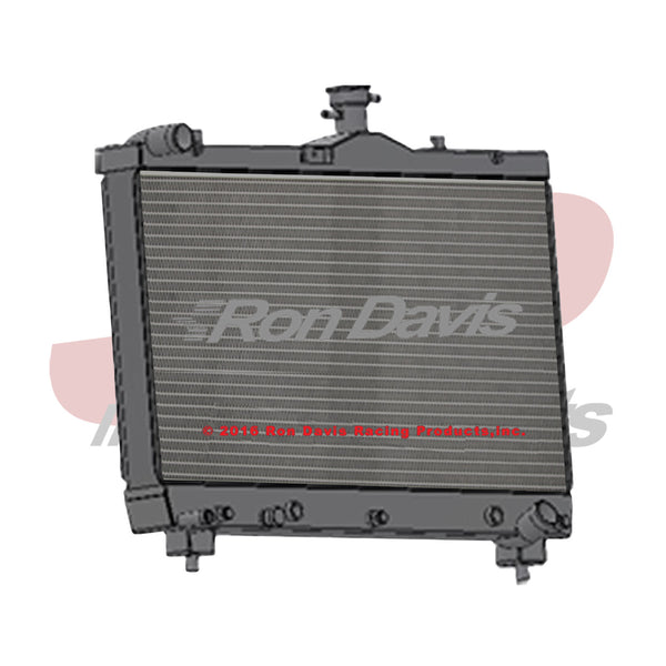Ron Davis Racing Products 5th Gen Camaro ZL1 Aluminum Radiator (1-16CA12ZL1)