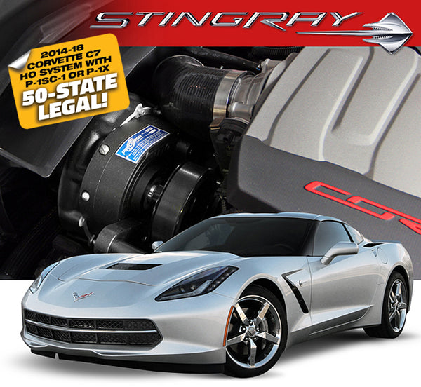ProCharger C7 Corvette LT1 Intercooled Supercharger (1GU212-SCI)