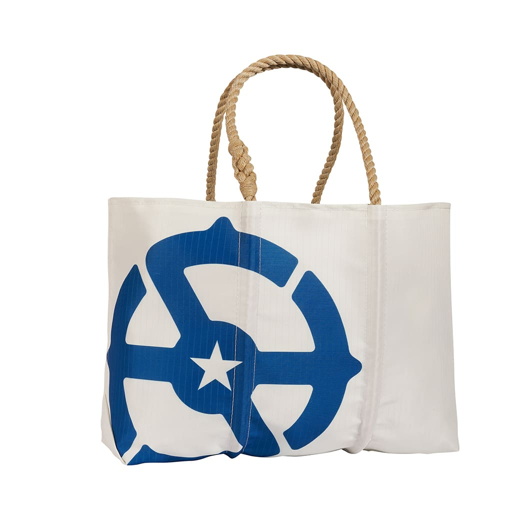 Large Recycled Sail Tote by Sea Bags
