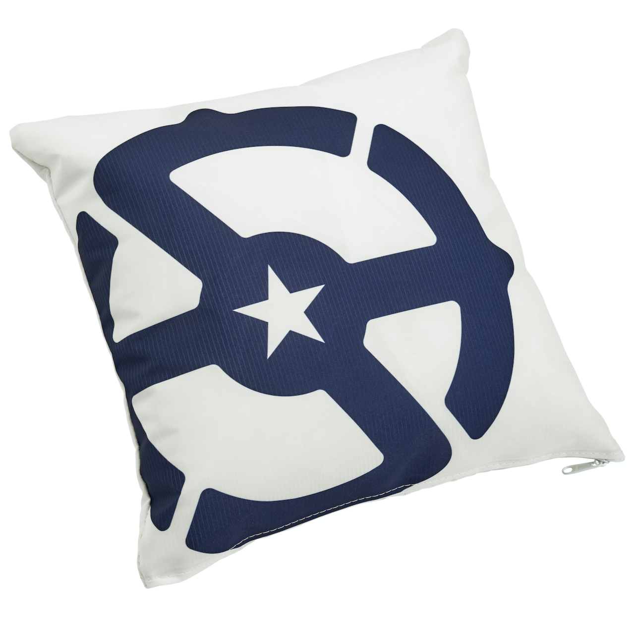 Recycled Sail Pillow by Sea Bags