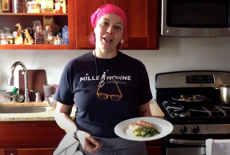 How to make zero-waste Vegetable Broth & Salmon with Vegetables - COMFORTABLY COOKED by PILAR