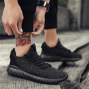 Running Shoes For Men Outdoor Mesh Comfortable Man Sneakers Sports Shoes Lace-up Sneaker - TRIPLE AAA Fashion Collection