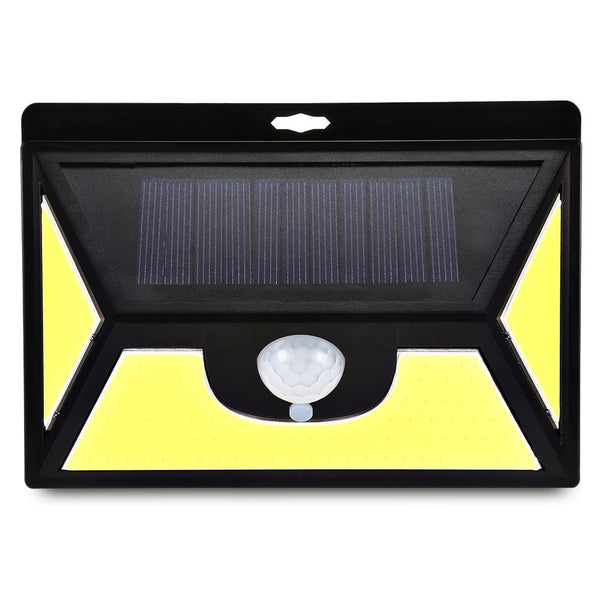 COB102 102 LEDs Solar Motion Sensor Wall Light IP65 Waterproof for Outdoors - TRIPLE AAA Fashion Collection