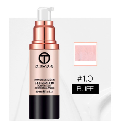 O.TWO.O Brand Liquid Foundation Matte Weightless Ultra Liquid Makeup Face Foundation Brighten Concealer - triple-aaa-fashion-collection