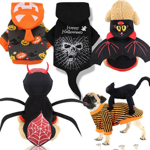 Dog Clothes Halloween Costume Pet Clothes - TRIPLE AAA Fashion Collection