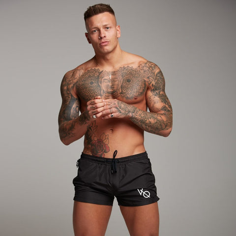 Men Gyms Fitness Bodybuilding Shorts Mens Summer Casual Cool Short Pants Male Jogger Workout Beach Breechcloth Bottoms - TRIPLE AAA Fashion Collection