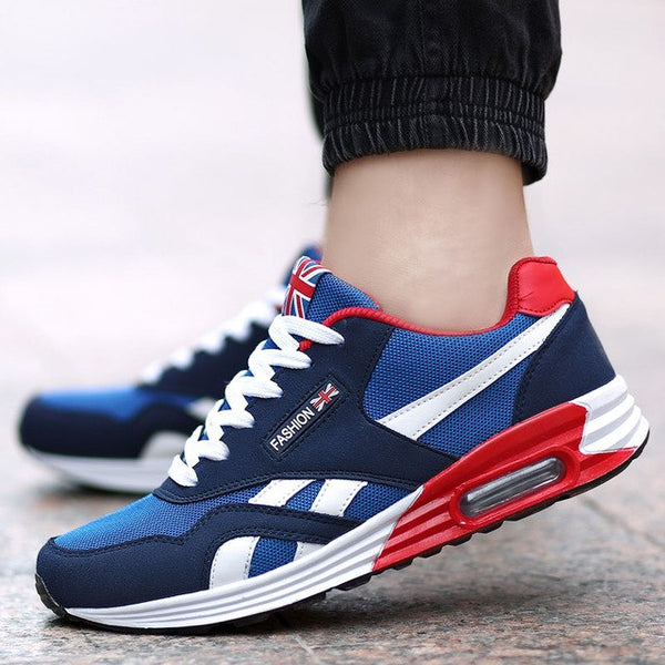 Men Running Shoes Breathable Trainers Sneakers Male Jogging Sports Shoes Bounce Trend Footwear - TRIPLE AAA Fashion Collection