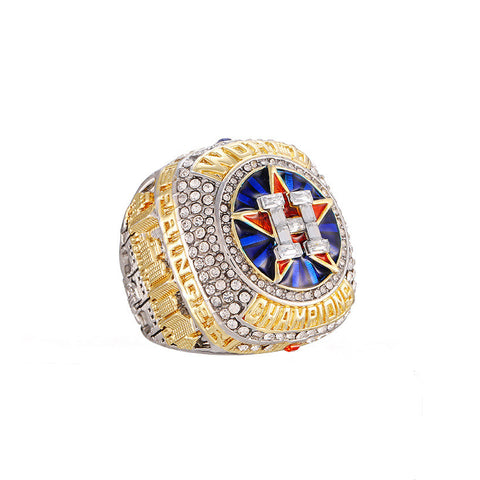 Official Design 2017 2018 Houston Astros championship rings - triple-aaa-fashion-collection