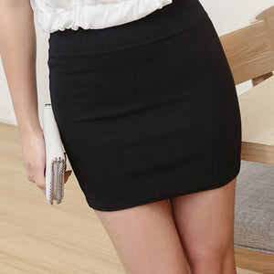 Summer Sexy Girls Skirts Casual Package Hip Short Skirts Women Tight Office Party Skirts - TRIPLE AAA Fashion Collection