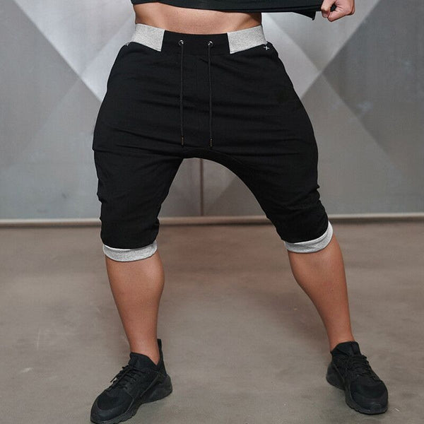 Mens Gym Shorts Quick Dry Sport Running Shorts Men Compression Short Pants Jogging Shorts Gray Sweatpants - TRIPLE AAA Fashion Collection