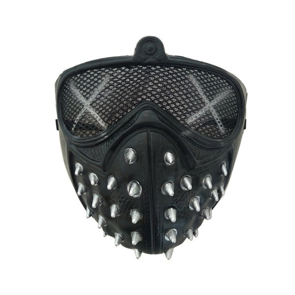 Halloween Devil COS Anime Stage Mask Ghost Steps Street Rivet Death Masks Watch Dogs Cosplay Stage Party Face Masks Accessories - TRIPLE AAA Fashion Collection