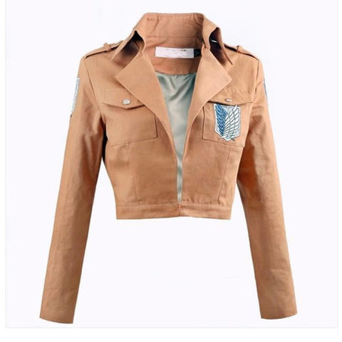 Attack on Titan Jacket Shingeki no Kyojin jacket Legion Cosplay Costume Jacket Coat Any Size High Quality - TRIPLE AAA Fashion Collection