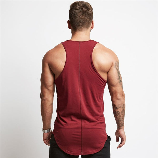 Mens sleeveless vest Summer men Tank Tops Clothing Bodybuilding Undershirt Casual Fitness tank tops tees - TRIPLE AAA Fashion Collection