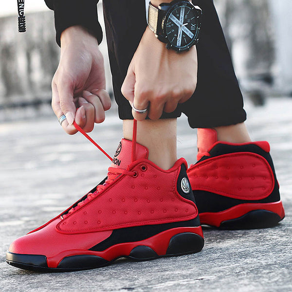 Style Breathable Basketball Shoes Mens Boys High Top Shockproof Sneakers Non-slip Jordan Basket Shoes Zapatillas Hombre - TRIPLE AAA Fashion Collection
