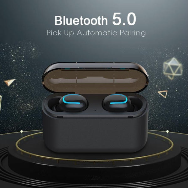 Bluetooth 5.0 Earphones TWS Wireless Headphones Blutooth Earphone Handsfree Headphone Sports Earbuds Gaming Headset - TRIPLE AAA Fashion Collection