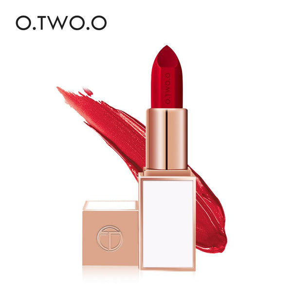 O.TWO.O 24 Colors Soft Cream Lip Stick Moisturizer Long Lasting Makeup Water proof lipstick - TRIPLE AAA Fashion Collection