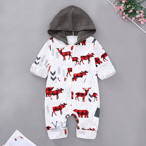 new born baby clothes baby boy romper winter clothes costume romper onesie disfraz bebe hallowe Christmas Santa Cartoon 6-24m - TRIPLE AAA Fashion Collection