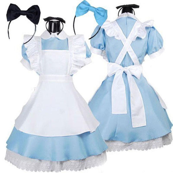 Costume Lolita Dress Maid Cosplay Fantasia Carnival Halloween Costumes - TRIPLE AAA Fashion Collection