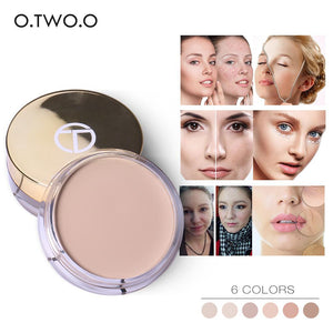 O.TWO.O Full Cover Concealer cream Makeup Primer Cover Pore Wrinkle Foundation Base Lasting Oil Control Cream Concealer - TRIPLE AAA Fashion Collection