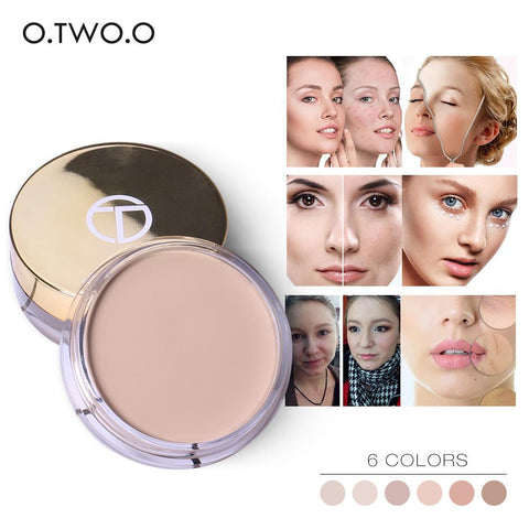 O.TWO.O Full Cover Concealer cream Makeup Primer Cover Pore Wrinkle Foundation Base Lasting Oil Control Cream Concealer - triple-aaa-fashion-collection