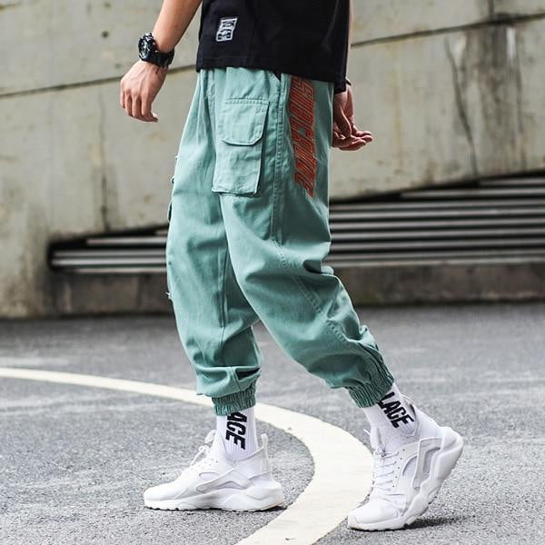 Camouflage Jogger Pants Men Hip Hop Trousers Loose Fit Ankle Banded Big Pocket Cargo Pants Streetwear Men's Punk Jeans - TRIPLE AAA Fashion Collection