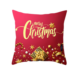 Festive Red Pattern Cushion Cover Christmas Style Pillow Cover - TRIPLE AAA Fashion Collection