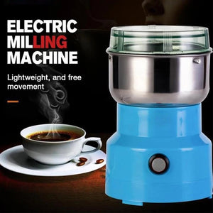 Multifunction Smash Machine Electric Coffee Bea n GrinderNut Spice Grinding Coffee Grinder - TRIPLE AAA Fashion Collection
