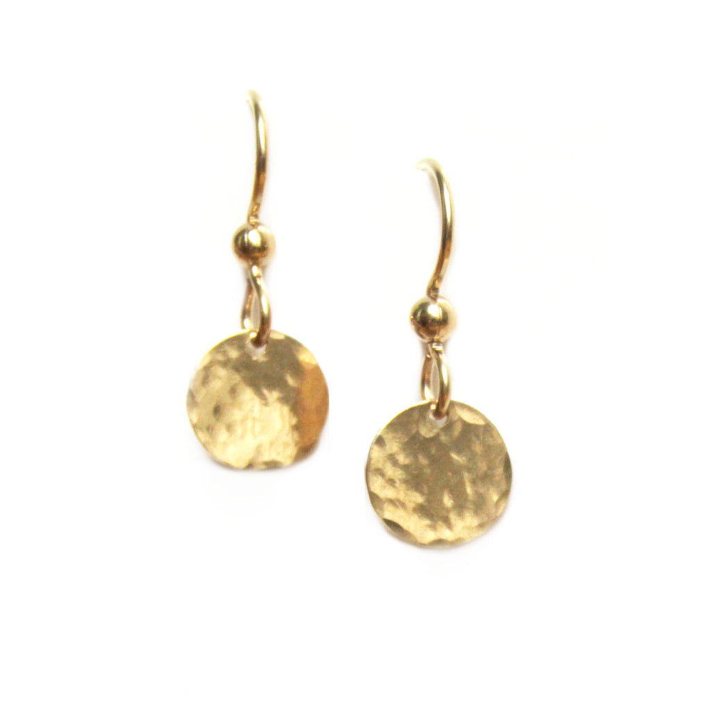 Disc Dangle Earrings