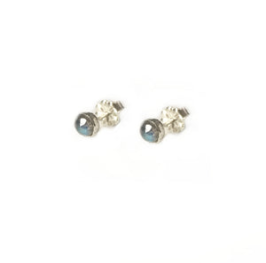 Tiny Gemstone Earrings