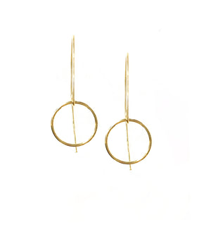Circle Marquise Earrings