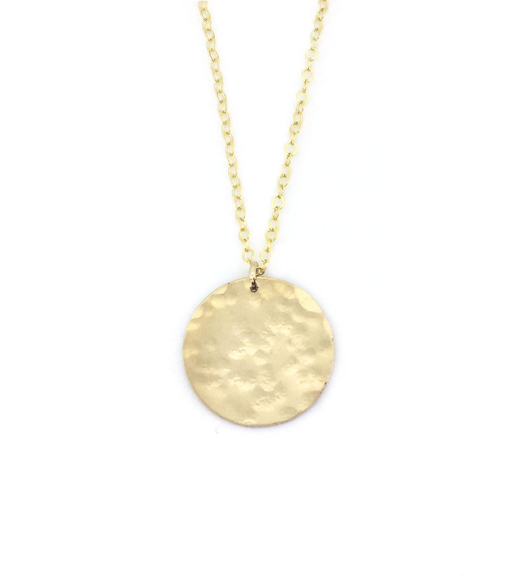 Small Medallion Necklace