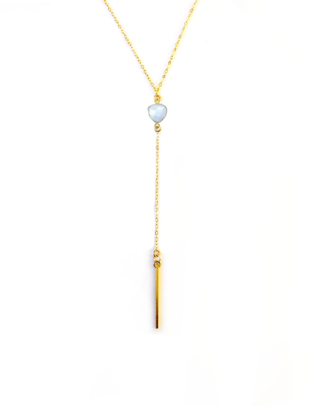 Long Moonstone Lariat