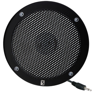 "Poly-Planar 5"" VHF Extension Speaker - Flush Mount - (Single) Black [MA1000RB]"