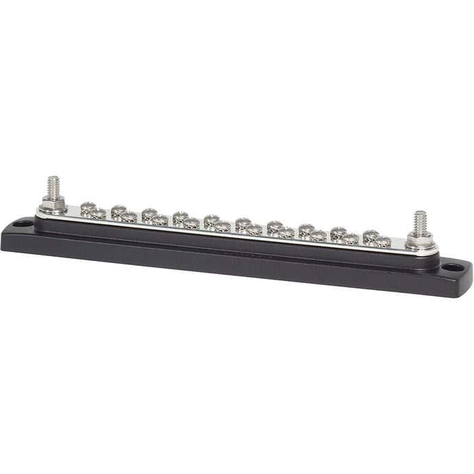 Blue Sea 2302 150AMP Common BusBar 20 x 8-32 Screw Terminal [2302]