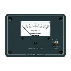 Blue Sea 8015 DC Analog Voltmeter w- Panel [8015]