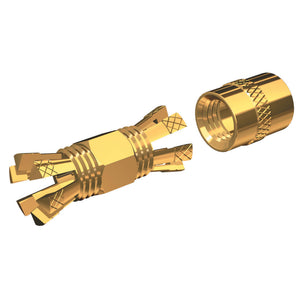Shakespeare PL-258-CP-G Gold Splice Connector For RG-8X or RG-58/AU Coax. [PL-258-CP-G]
