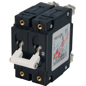 Blue Sea 7254 C-Series Double Pole Circuit Breaker - 60A [7254]