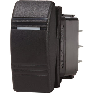 Blue Sea 8289 Water Resistant Contura III Switch - Black [8289]